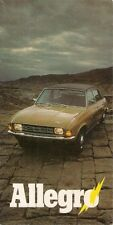 Austin Allegro Series 1 1973 UK Market Launch Foldout Sales Brochure