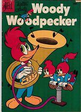 Walter Lantz Woody Woodpecker #36 VG- 3.5 1956 Dell See my store