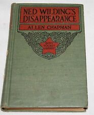 Antique Ned Wildings Disappearance Boys Pocket Library Book 1908 Allen Chapman