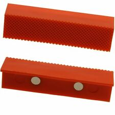 """Padded Vise Jaw Magnetic Soft Vise Jaw 4"""" 2pc Set Pad Attachment Gunsmith Work"""