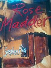 Rose Madder by Stephen King (1995, Hardcover) First Edition