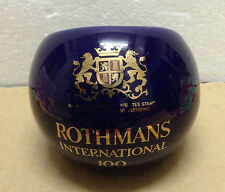 ROTHMANS INTERNATIONAL 100 Cigarettes Genuine Stoneware Ashtray
