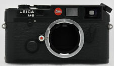 Leica M6 **New** Classic Black Body 0.72 35mm Film Rangefinder 10404