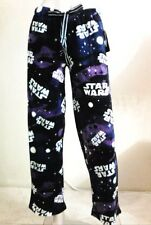 NWT Star Wars Non Footed Pajama Pants Lounge Fleece Sleepwear M ALMOST GONE