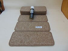 Carpet / Stair pads 50cm Wide 11 off  and  with a FREE  can of SPRAY GLUE 2012-2