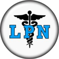 Snap button LPN nurse 18mm charm