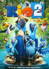 Rio 2 (DVD, 2014)  Anne Hathaway    Animated   Brand NEW + Bonus sing along