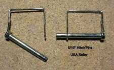 2 PTO Pins 3 Point Hitch 5/16 Farm RV Sailing Equipment Quick Release Safety Pin