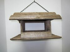Wooden Bird Feeders from Reclaimed Fencing and Barn Wood - Rustic, Eco Friendly