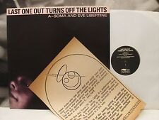 A-SOMA AND EVE LIBERTINE - LAST ONE TURNS OFF THE LIGHTS LP + INSERT 1st PRESS