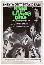 Night Of The Living Dead Horror Film Vintage Movie Poster Print Picture A4