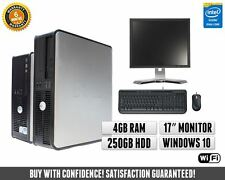 """Cheap Dell Full Computer System with 17"""" Monitor 