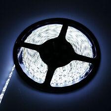 5M 3528SMD LED Strip Bande Lumière flexible étanche Blanc Froid 60leds/M DC Jack
