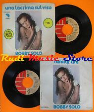 LP 45 7'' BOBBY SOLO Una lacrima sul viso Family life 1978 italy EMI cd mc dvd