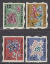 Germany Bund BRD 1963 Mi 392/95 ** Blumen Flowers Flora Schachbrettblume