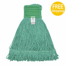 1pc 680g/24oz. SunnyCare #22684-1pc Green Synthetic Cotton Loop-End Wet Mops
