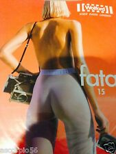 Wolford Fatal 15 Seamless Tights Helmut Newton Photo Cosmetic Large 18076