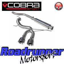 "FD49 Cobra Focus ST250 MK3 Stainless Exhaust System VENOM 3"" Cat Back -VERY LOUD"