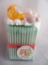 Cotton buds Case Little Twin Stars Dolce Deco Swab Box Art Craft Handmade Sweets