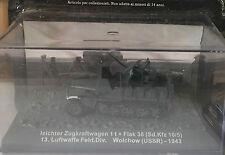 """DIE CAST TANK """" LEICHTER ZUGKRAFTWAGEN 1 T + FLAK 38 WOLCHOW (USSR) - 1943"""" 1/72"""