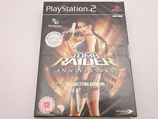 Lara Croft Tomb Raider Anniversary Collectors Edition PS2 - Brand New and Sealed
