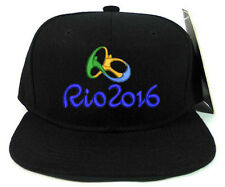 RIO 2016 OLYMPIC SNAPBACK CAP HAT FANS SOUVENIR COLLECTIBLES