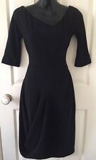 Alexander mcqueen black women's dress taille 38