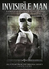 The Invisible Man: The Legacy Collection   (DVD, 2014, 3-Disc/6 Movie Set)