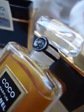 CHANEL COCO PARFUM 7.5ml 1/4oz PRE-BARCODE VINTAGE 1980s SEALED BOTTLE IN BOX