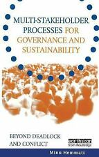 March, 2002, Multi-Stakeholder Processes for Governance and Sustainability: Beyo