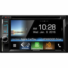 "Kenwood DDX6703S Double DIN Bluetooth DVD Apple CarPlay Car Stereo w/6.2"" Screen"