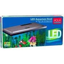 Aqua Culture LED Hood 10 Gallon Fish Tank Aquarium Lid Top Integrated Cutouts