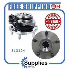 Pair (2) New Wheel Hub Bearing Assembly with One Year Warranty (513124)