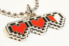 Heart Cannisters Life Legend of Zelda Link NES Nintendo Charm Pendant Necklace
