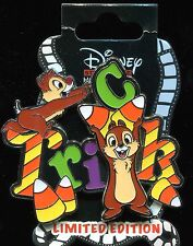 DSSH Halloween 2015 Chip and Dale Trick LE 300 Disney Pin 111695