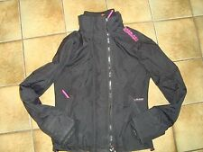 Onorevoli Superdry Professional il windcheater Multi Zip Giacca piccole donne