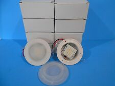 "*10  12 VOLT RECESSED 4 3/4"" LED INTERIOR CEILING MOUNT LIGHTS RV"
