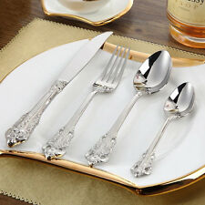48 Pieces Stainless Steel 18/10 Dinnerware Set 18th Century Replicas Cutlery Set