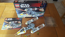 "LEGO STAR WARS 7658 ""Y-Wing"", 100% COMPLET + BOITE, COMME NEUF !! RARE !!"