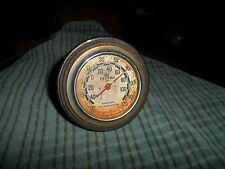Vintage TEL-TRU Industrial Room Thermometer GERMANOW - SIMON CO. Rochester, NY
