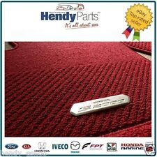 GENUINE Honda S2000 PREMIUM 4 Piece CARPET Mats RED LEFT HAND DRIVE JDM EURO USA