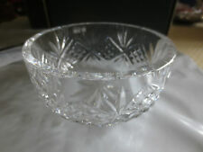 "GALWAY Irish Crystal CASTLEREA  6"" Bowl #10617 in Original Box"
