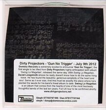 (DC487) Dirty Projectors, Gun No Trigger - 2012 DJ CD