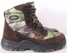LaCrosse Silencer Scent HD Camo Lace Up Hunting Ankle Boots Kids Youth US 4