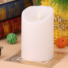 Romantic Simulation Flameless LED Electronic Light Swing Carve Flickering Candle
