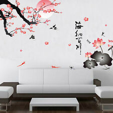 Plum Blossom Tree Removable Art Wall Decal Sticker DIY Home Decor Waterproof