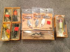 Bomber Fishing Lure lot Waterdog Wooden Lure Vintage NIB