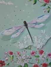 Carol Wilson Purse Pads Embossed Note Pad Dragonfly Floral Magnetic 90 Sheets