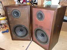 Set Of H.H. Scott Model S-17 Bookshelf Speakers Vintage 18""