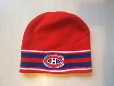 Montreal Canadiens NHL Hockey Red Winter Hat Toque Tuque Knit Beanie